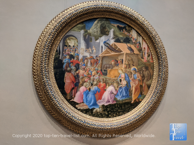 Gorgeous religious artwork at the National Gallery of Art west building in Washington D.C.
