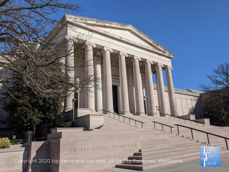 The National Gallery of Art in Washington D.C.