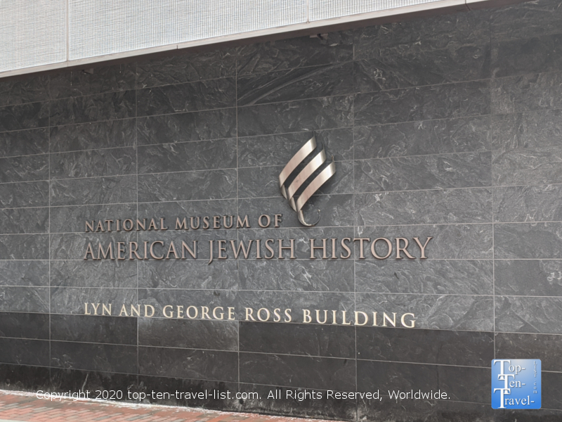 National Museum of American Jewish History in Old City Philadelphia