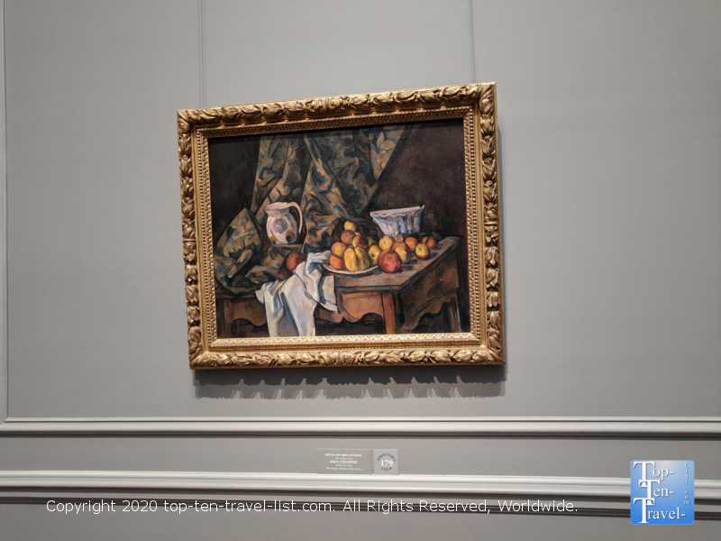 Paul Cezanne painting at the National Gallery of Art west building in Washington D.C.