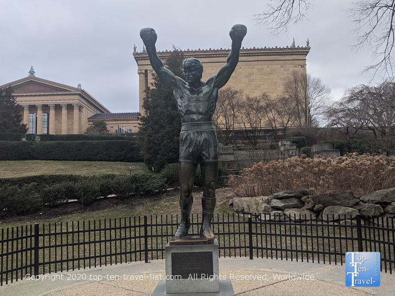 Statue from Rocky III at the Philadelphia Museum of Art