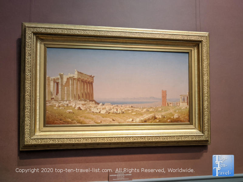 Sanford Gifford artwork at the National Gallery of Art west building in Washington D.C.