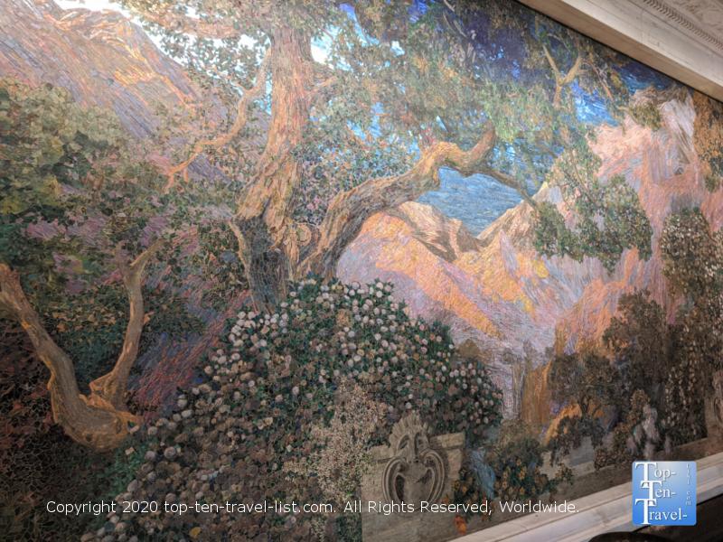 Tiffany Dream Garden mosaic in Old City Philadelphia