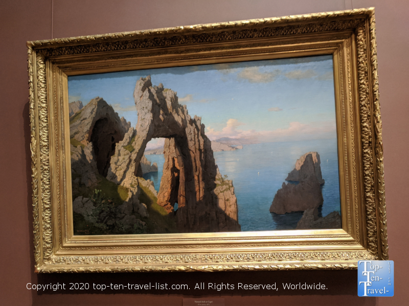 William Haseltine painting at the National Gallery of Art west building in Washington D.C.