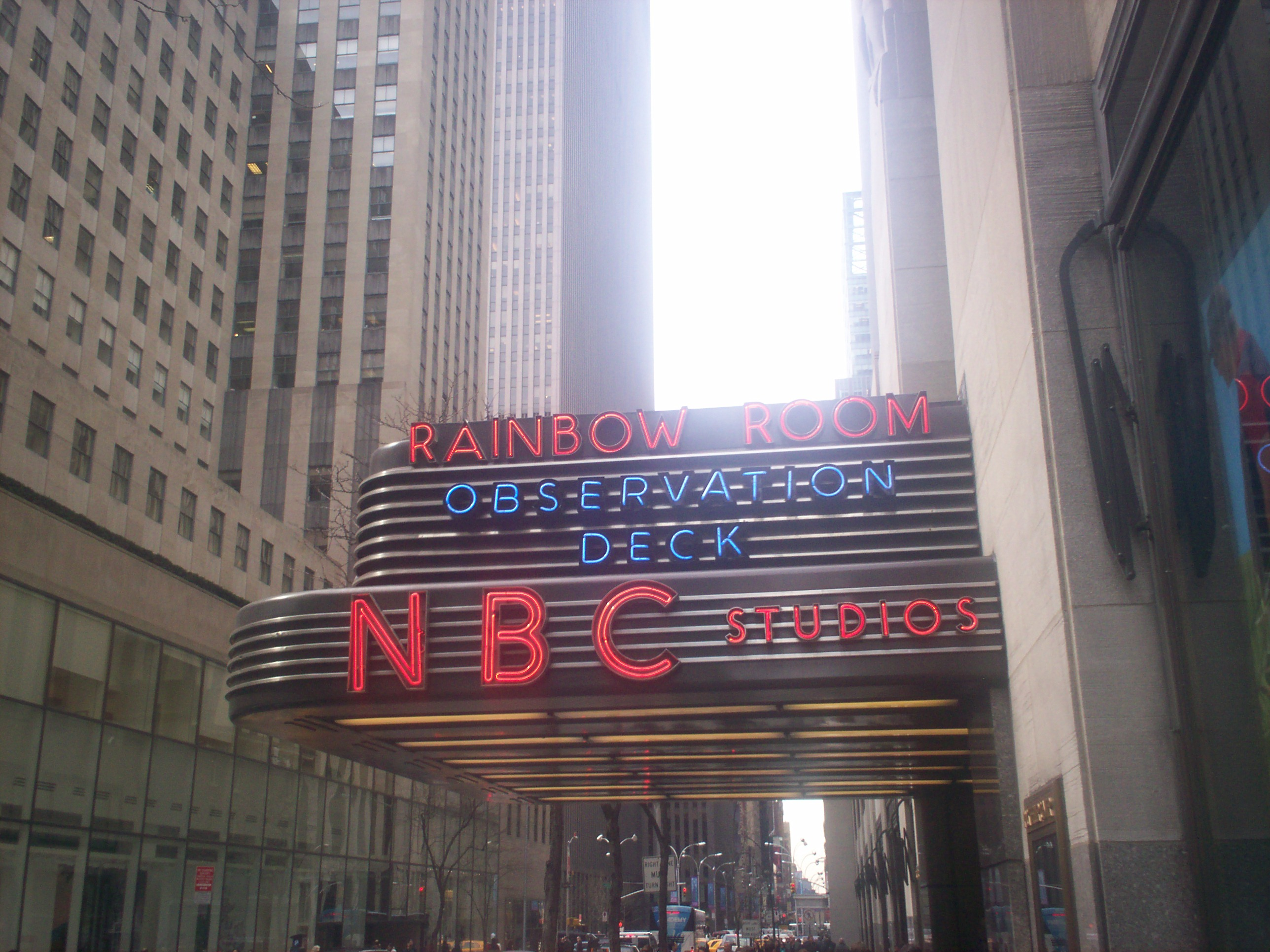 NBC studios - tickets to TV show tapings in New York City