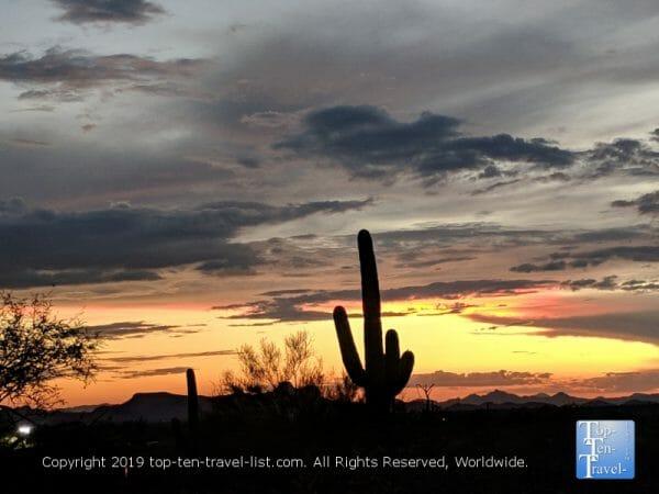 Gorgeous sunset hike via the Linda Vista trail in Oro Valley, Arizona