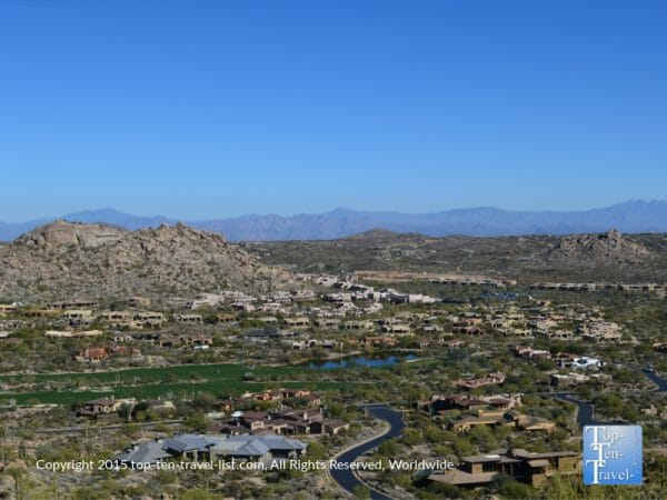 Amazing views of Scottsdale, Arizona from Pinnacle Peak Park