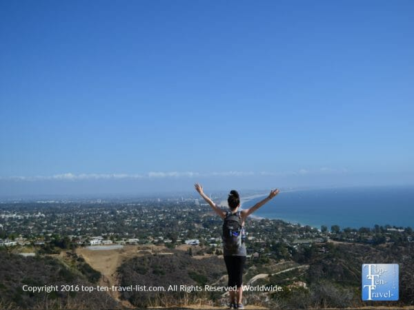 Amazing views via the Los Liones trail in L.A.'s Topanga State Park