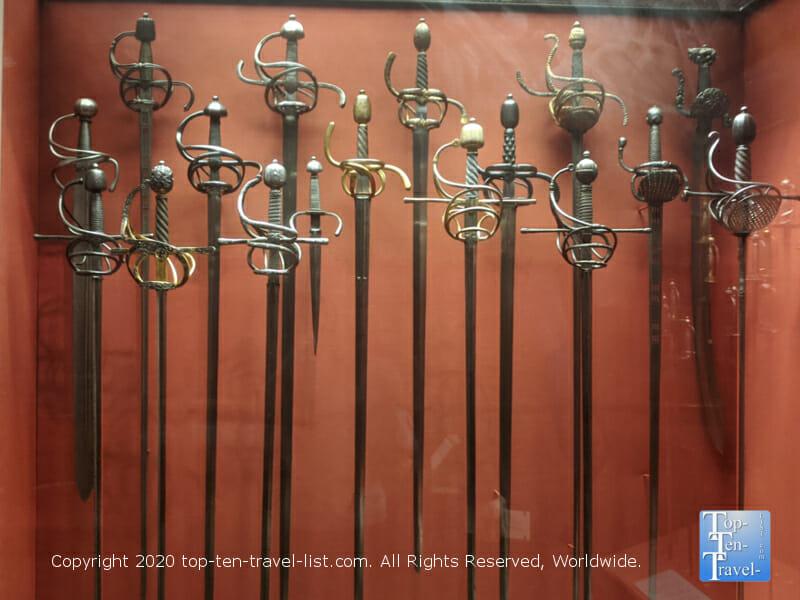 Ancient swords at the Philadelphia Museum of Art