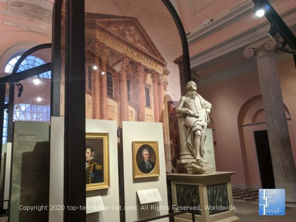 Second Bank Portrait Gallery in Old City Philadelphia