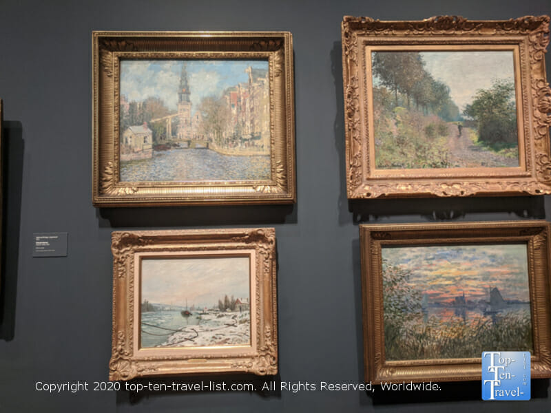 Gorgeous paintings by Claude Monet at the Philadelphia Museum of Art