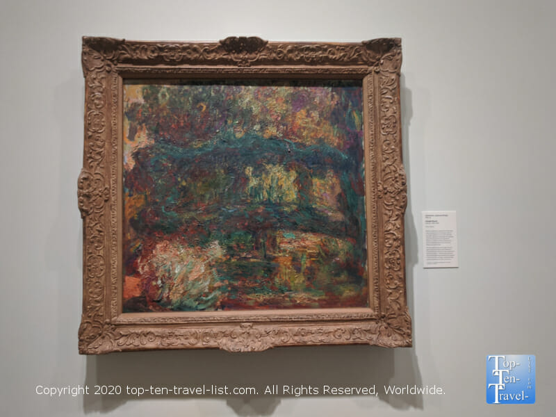 Beautiful Monet painting at the Philadelphia Museum of Art