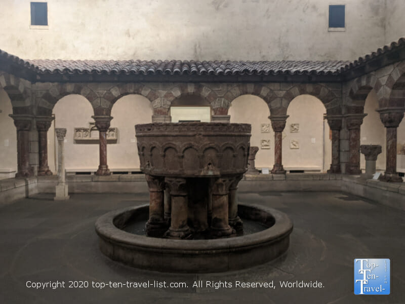 Fountain from the Monastery of Saint-Michel-de-Cuxa