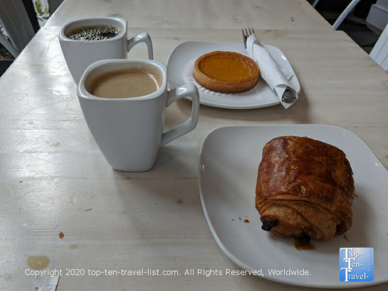 Great coffee and French pastries at J'aime in Center City Philadelphia