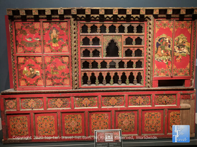 Home altar from Tibet, late 19th-early 20th Century at the Philadelphia Museum of Art