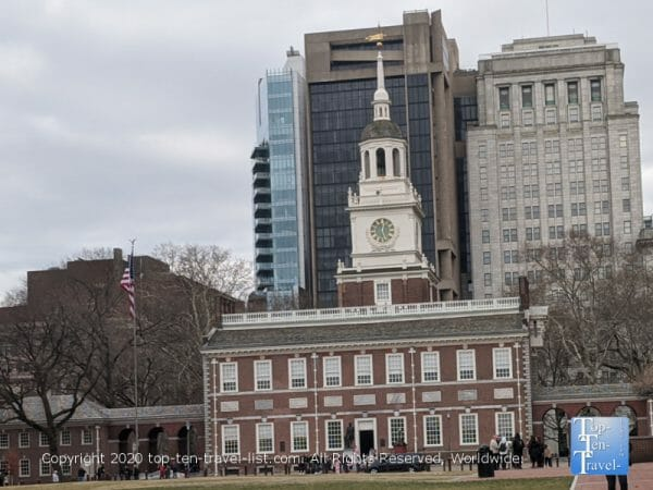 Independence Hall in Old City Philadelphia