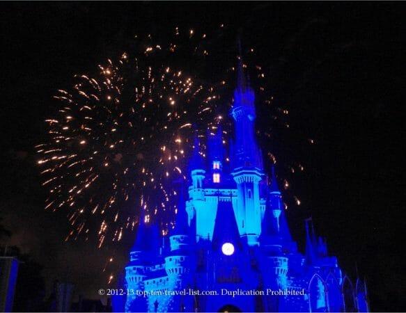 Magic Kingdom Walt Disney World fireworks show
