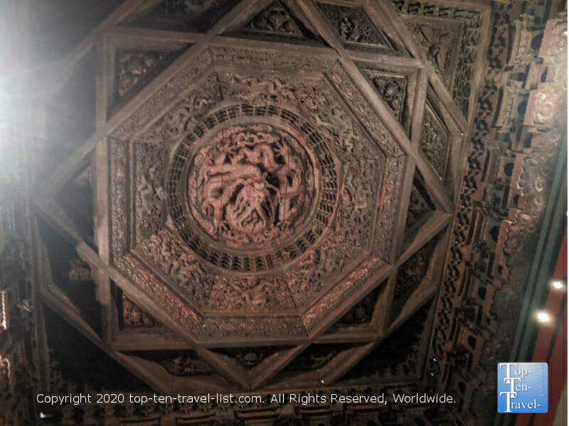 Coffered Ceiling from Zhihuasi Temple ,1444