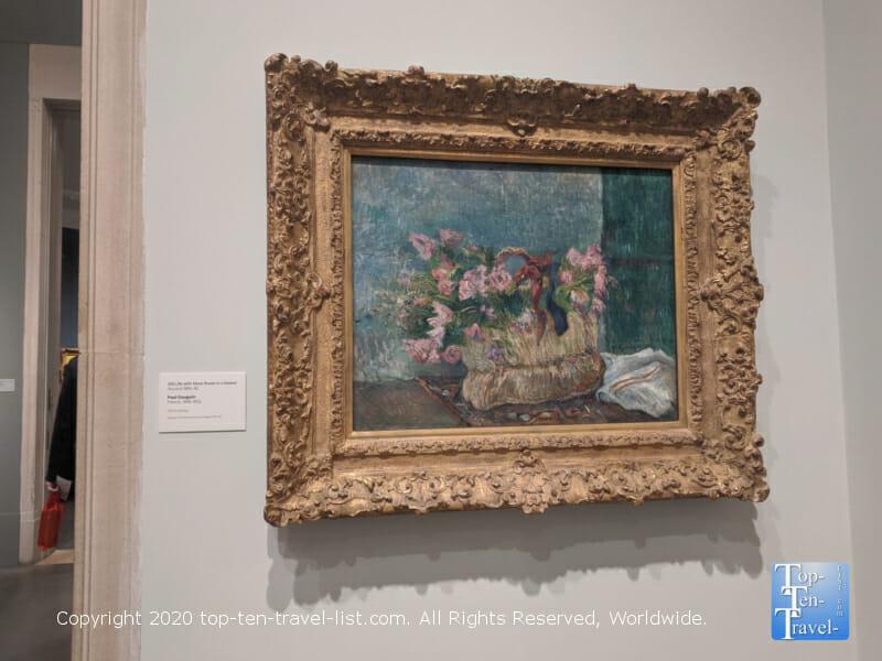 Paul Gauguin artwork at the Philadelphia Museum of Art