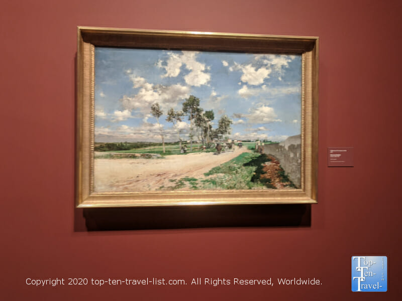 Beautiful landscape art at the Philadelphia Museum of Art