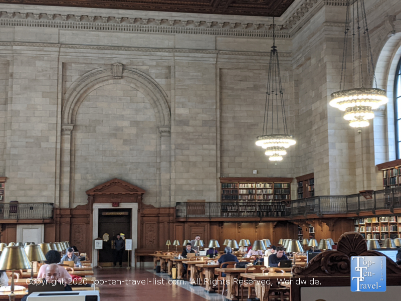 Tour of the NY Public Library