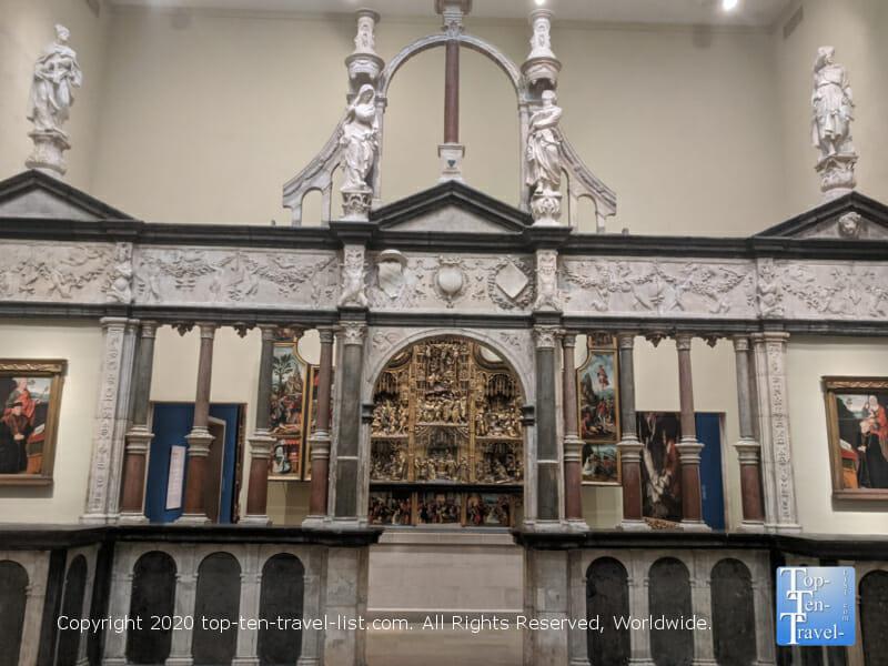 Religious art galleries at the Philadelphia Museum of Art