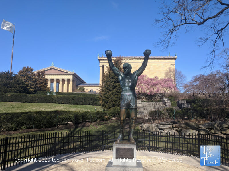 Rocky statue at the Philadelphia Museum of Art
