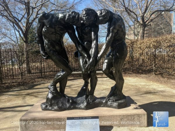 Sculpture at The Rodin Museum in Philadelphia