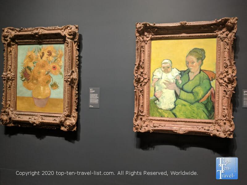 Paintings by Van Gogh at the Philadelphia Museum of Art