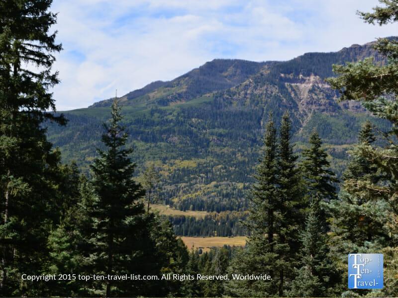 Amazing views of the San Juan wilderness via the Treasure Falls hike in Pagosa Springs, Colorado