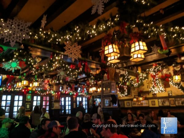 Crazy Christmas decor at McGillin's Old Ale House in Center City Philadelphia