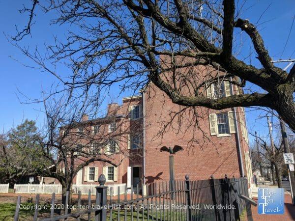 Edgar Allan Poe house in Philadelphia