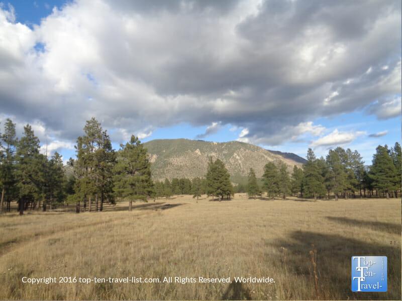 Incredible mountain vistas at Buffalo Park in Flagstaff, Arizona