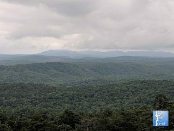 Bald Rock Heritage Preserve in Upstate South Carolina
