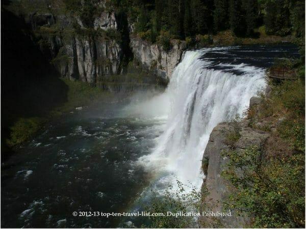 Mesa Falls in Southern Idaho