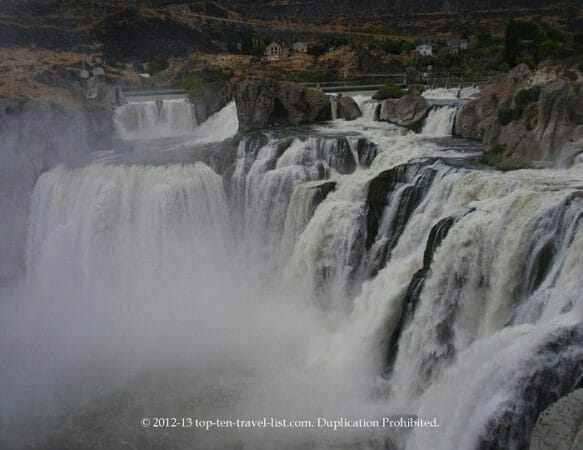 Shoshone Falls in Southern Idaho
