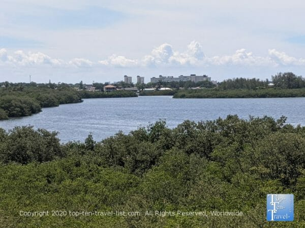 Beautiful views via Boca Ciega Millennium Park in Largo, Florida