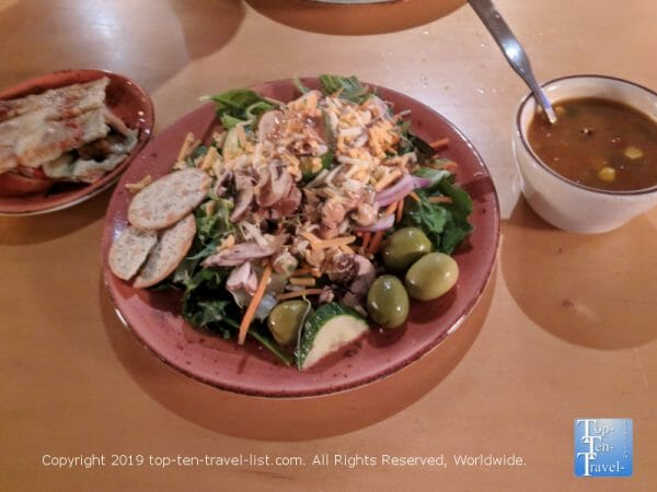 Harvest Table salad and soup lunch buffet at Roost in Greenville, South Carolina