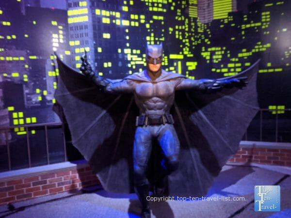 Batman wax figure at Madame Tussauds in Orlando, Florida