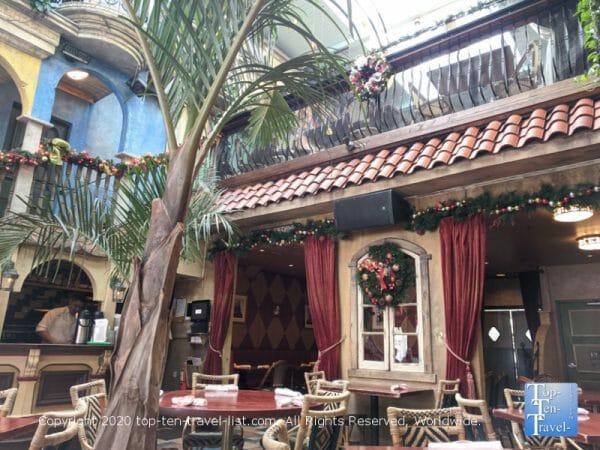 Beautiful decor at Cuba Libre restaurant