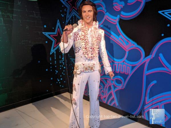 Elvis wax figure at Madame Tussauds in Orlando, Florida