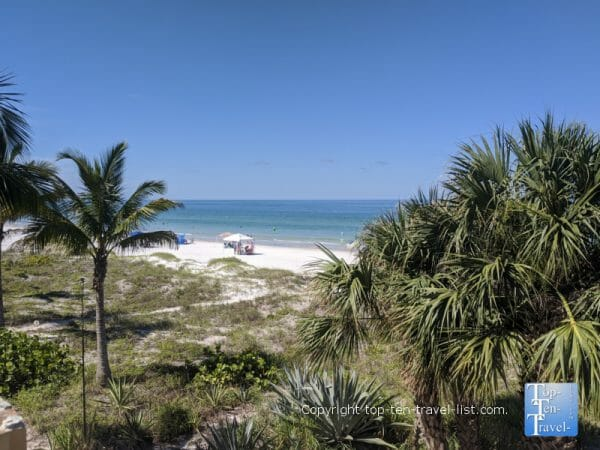 Quiet day on Indian Rocks Beach on Florida's Gulf Coast