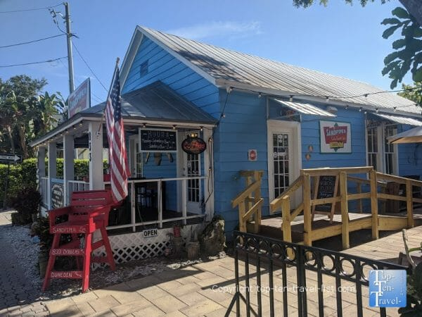 Sandpiper Cafe coffeehouse in Dunedin, Florida