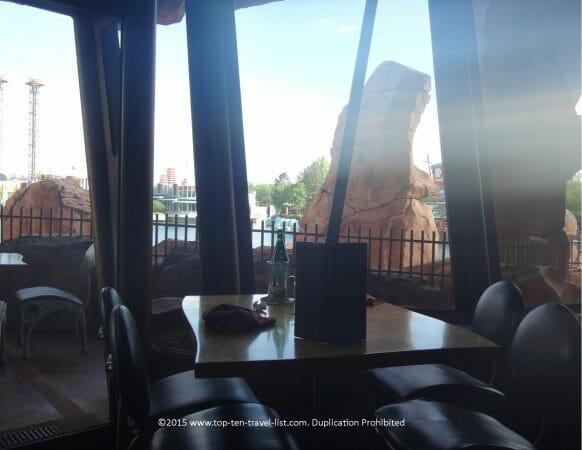 Cave design at Mythos - the world's best theme park restaurant