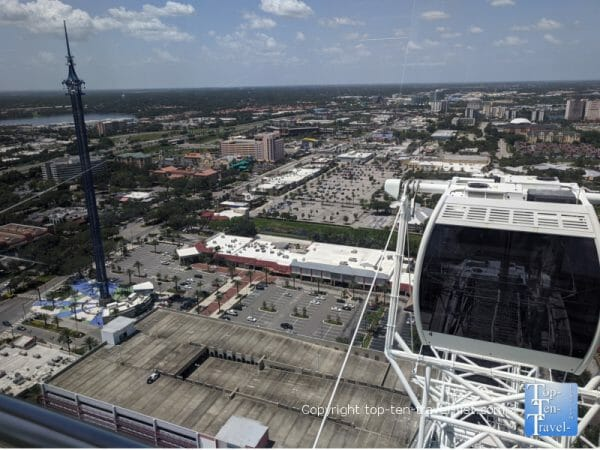 The Icon Park Ferris Wheel in Orlando, Florida