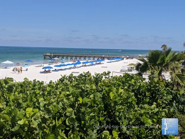 Beautiful Indian Rocks Beach on Florida's Gulf coast
