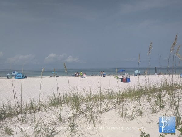 Treasure Island beach on Florida's Gulf Coast