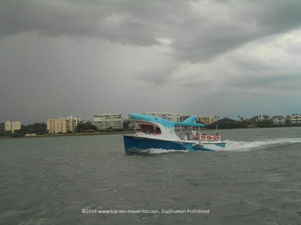 Mega bite tour boat in Clearwater, Florida