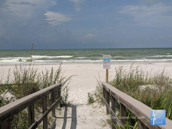 Peaceful North Redington Beach on Florida's Gulf Coast