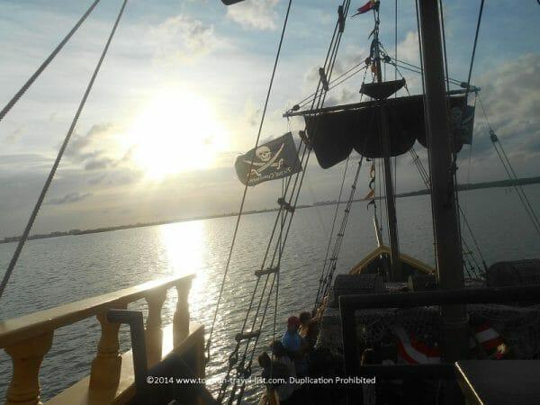 Pirate cruise at St. Johns Boardwalk in Madeira Beach, Florida